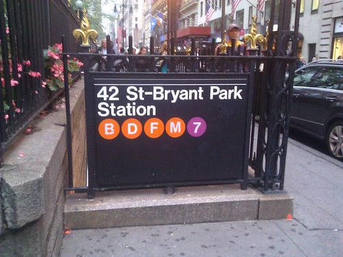 42nd St-Bryant Park