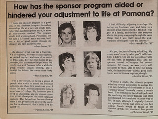 1984 Pomona Sponsor groups in the TSL