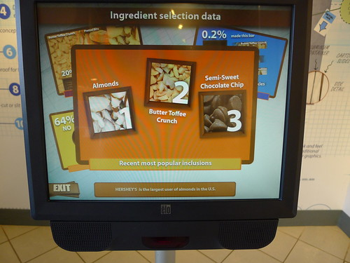 Hershey's Create Your Own Candy Bar