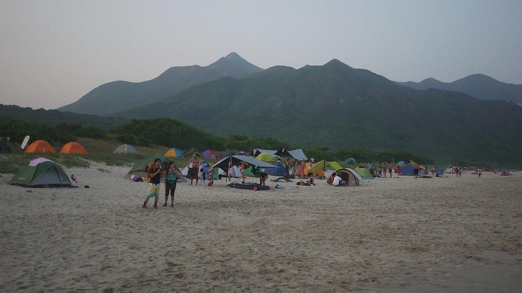Camping on Tai Wan Beach