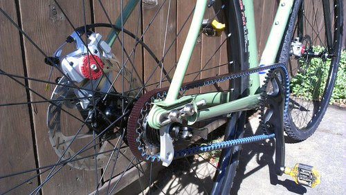 Spot Mod single-speed belt-drive disc cyclocross bike