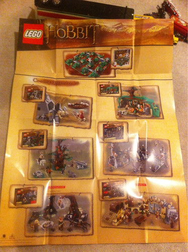 LEGO Hobbit Set Poster