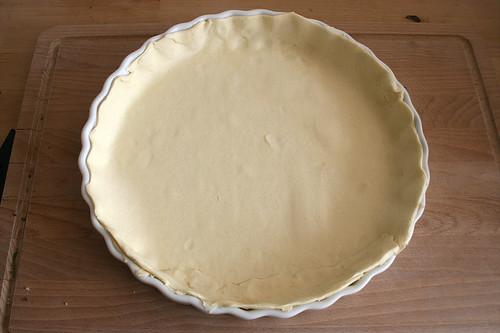 23 - Blätterteig einpassen / Fit puff pastry