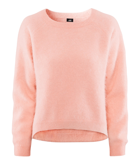 hm angora sweater