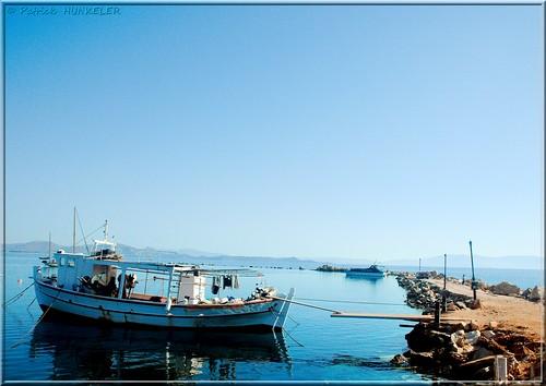 #1758  Νέα Μάκρη - Hafen von Nea-Makri - Port de Néa-Makri