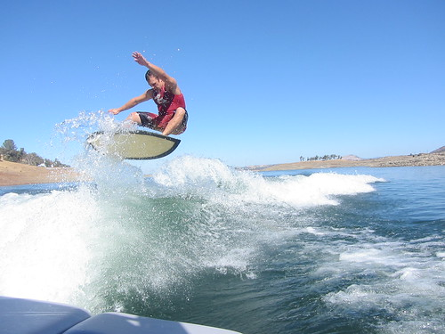 Early October Wakesurfing 266