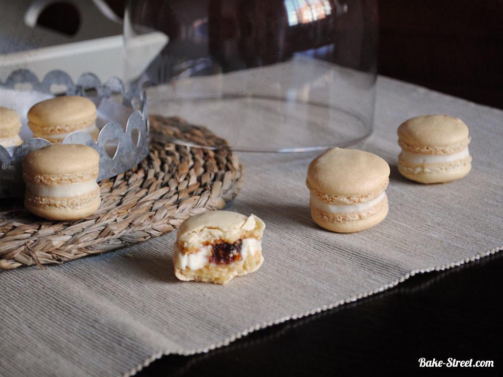 Macarons de mascarpone y membrillo - Bake-Street.com ...