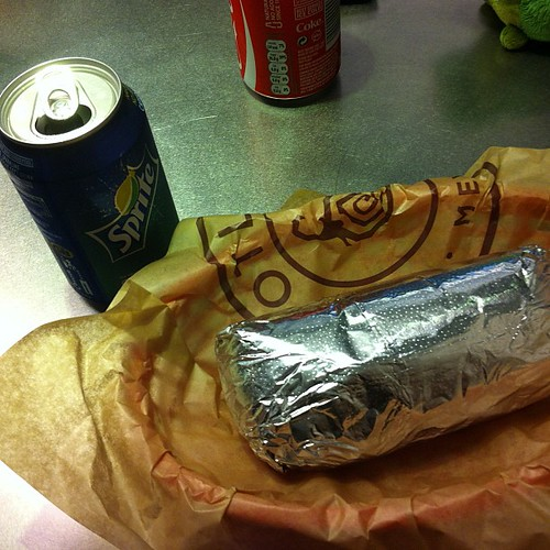 My first #chipotle for lunch. We walked from King's Cross. I think it balances out. #london #adventures