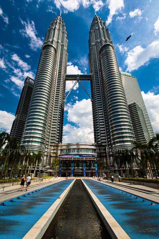 Twin Tower @ KLCC, Kuala Lumpur, Malaysia