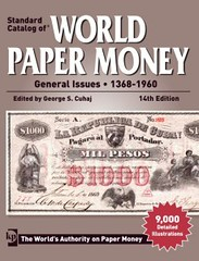 World paper Money 14th ed