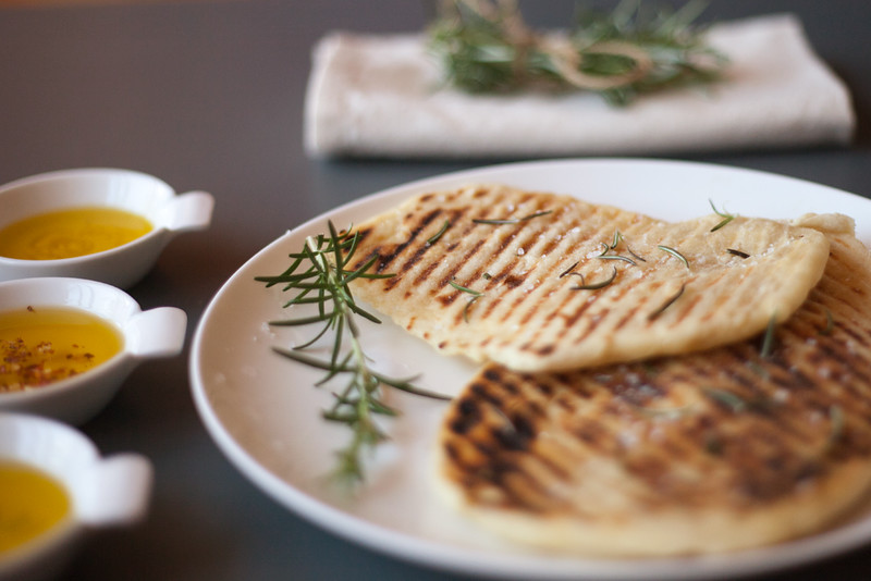 ASSIGNMENT 01::GRILLED FLAT BREAD + INFUSED OLIVE OILS