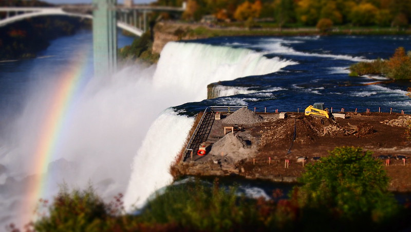 Niagara Falls - American Side Tilt Shift