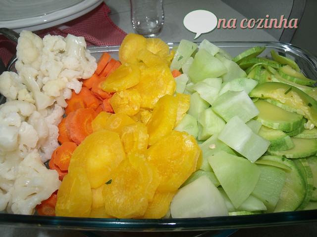 Legumes no Microondas