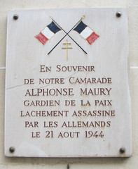 Photo of White plaque № 11662