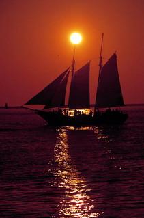Schooner Wolf off Key West