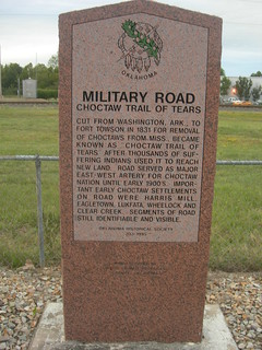 Military Road Historic Marker