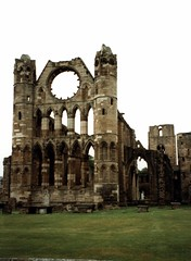Elgin Cathedral - Ruins of a church