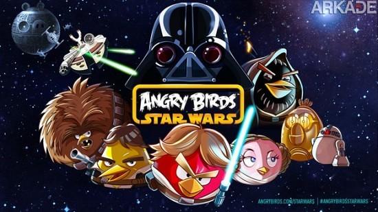 Novo Jogo Angry Birds: Star Wars Chega Dia 8 de Novembro!