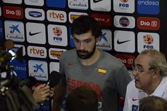 Selección Española Baloncesto- Costa de Marfil (28-07-16, Zaragoza)