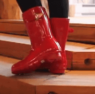 botas de agua hunter