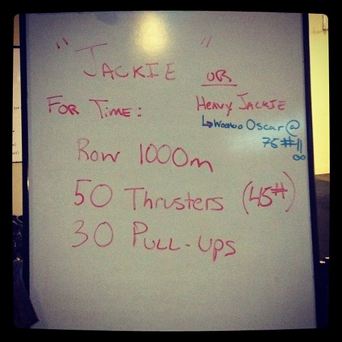 Good times this morning. #wod #crossfit