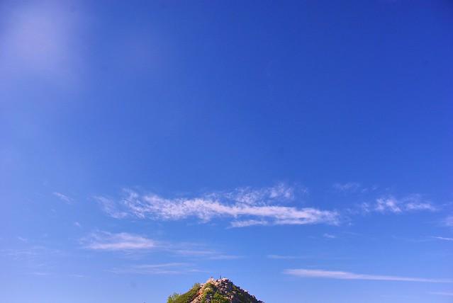 観音岳山頂の風景