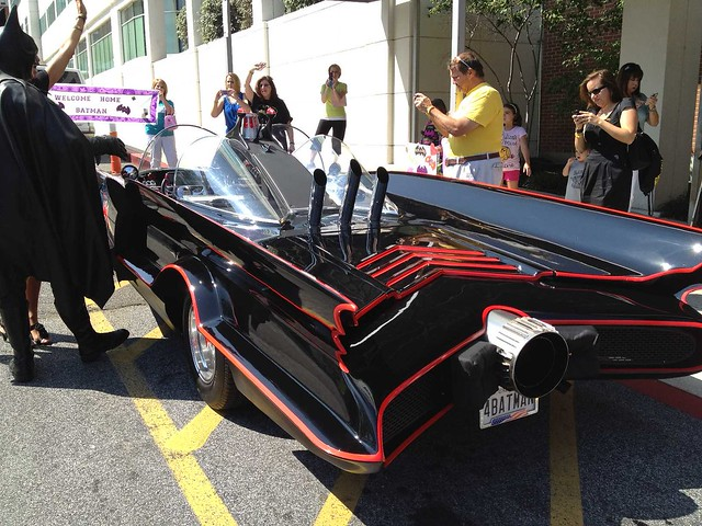 Batman's New Batmobile