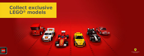 Ferrari + LEGO + Shell
