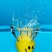 Splash 2 - Yellow Smiley Ball - 0788 by mikelinnik