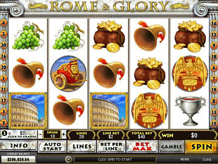 Rome & Glory Slot Machine