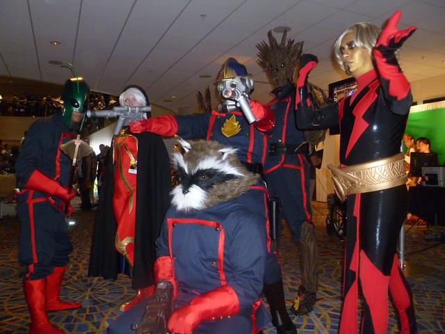 Rocket Raccoon & the Guardians of the Galaxy