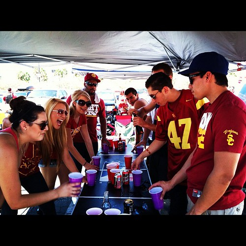 An amazing day with some amazing people! #USC #tailgate #fighton