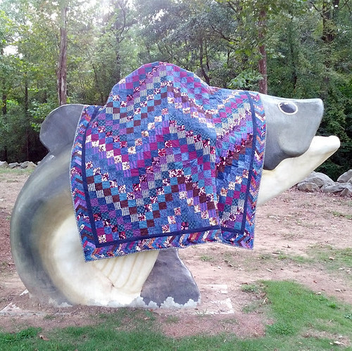 Bargello keeps fishy warm