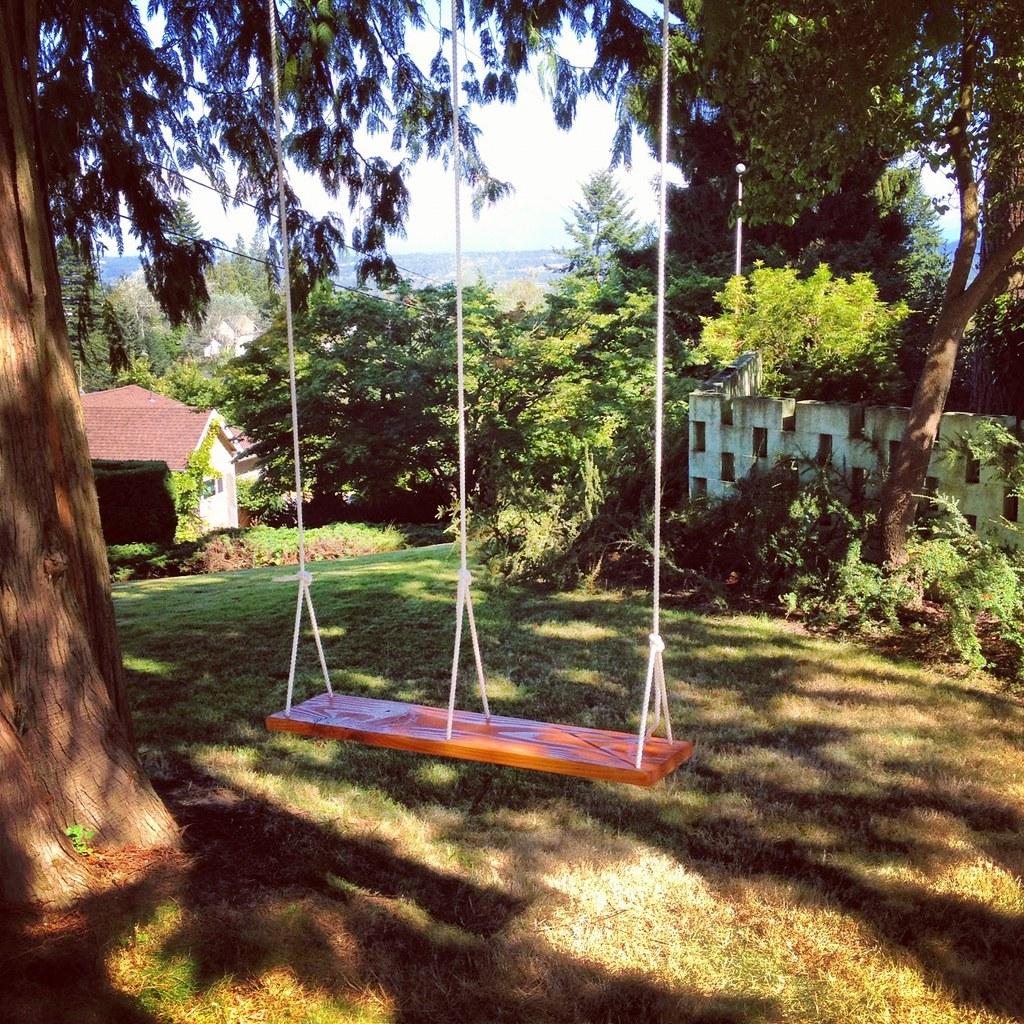2 Person Tree Swing Motorrad Mcm Flickr