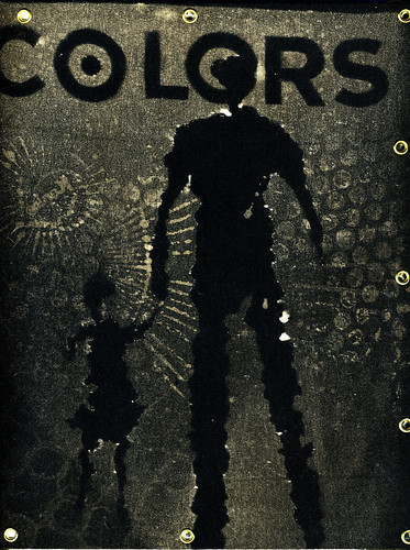 COLORS Notebook, Cover