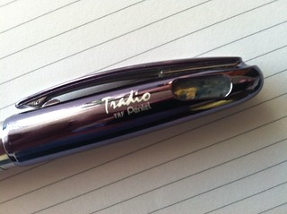 Pentel Tradio fountain pen cap