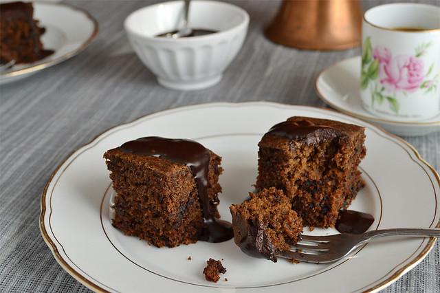 Kaffee-Schoko-Kuchen, vegan