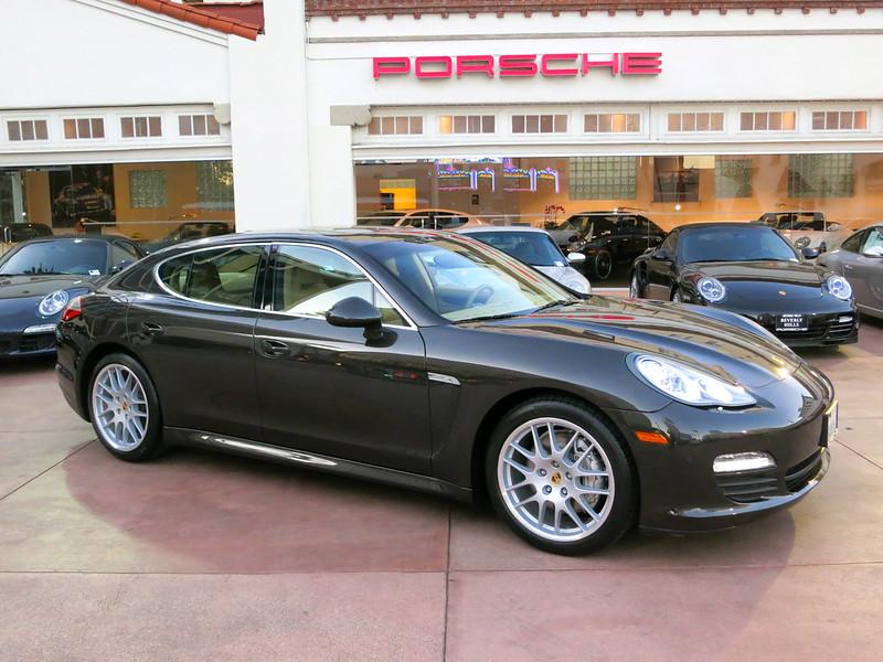 Porsche Panamera S Carbon Grey Sport Package Luxor Beige