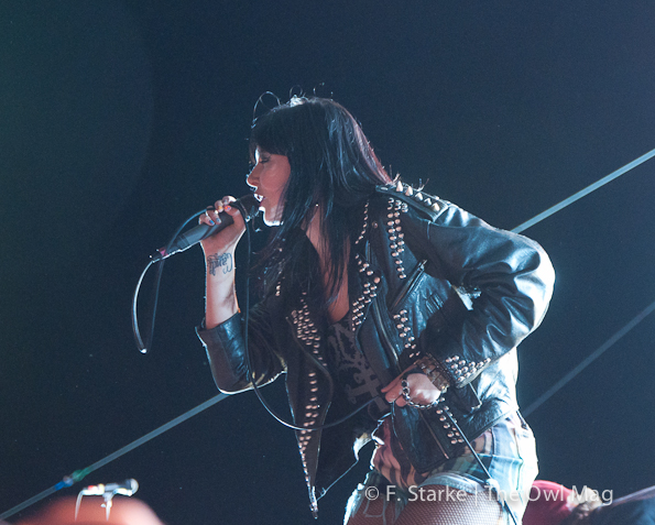 Sleigh Bells @ FYF Fest 2012, Los Angeles