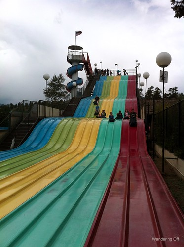 Giant Slide in Estes Park, CO