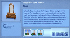 Twigs-n-Sticks Vanity