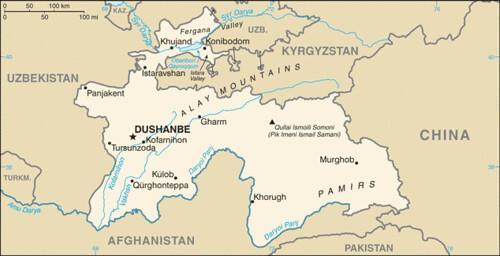 tajikistan-map