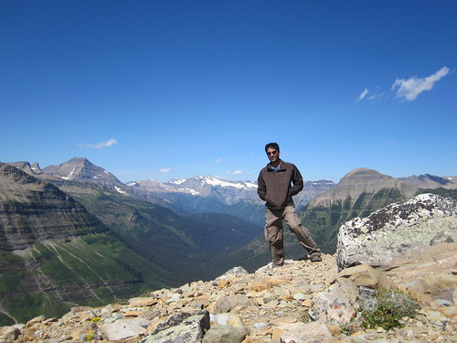 Me standing on dawson pass