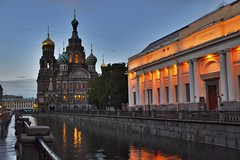 Church on the Spilled Blood in St. Petersburg