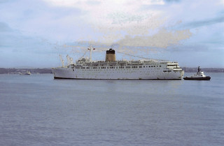 'Ocean Monarch' at Auckland - April  75
