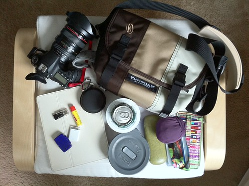 253/365 - What's In My Bag - Walking Edition