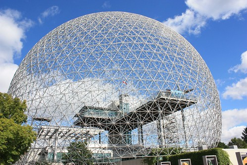 Biosphere By Richard Buckminster Fuller - Montreal Expo '67