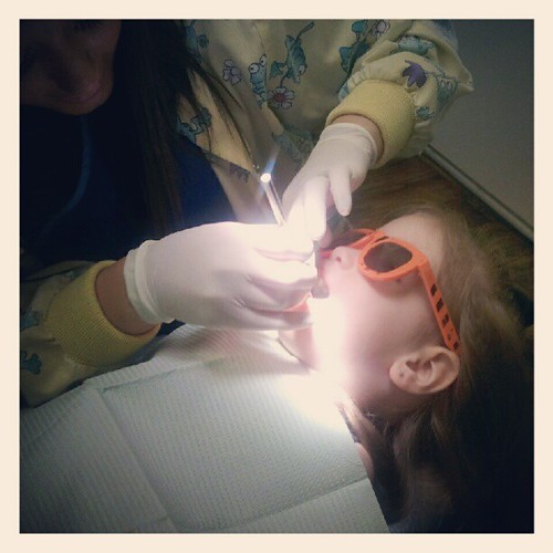 austin's 1st dentist appointment! :)