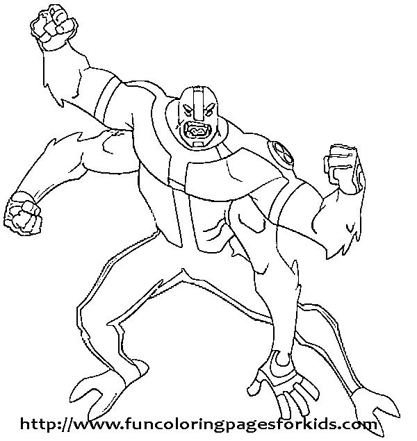 7983054256 3384e4422f for Ben 10 coloring pages games