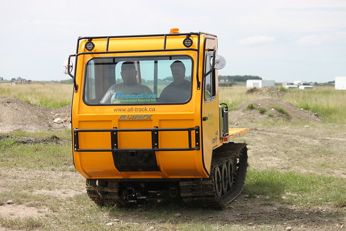two passenger tracked vehicle